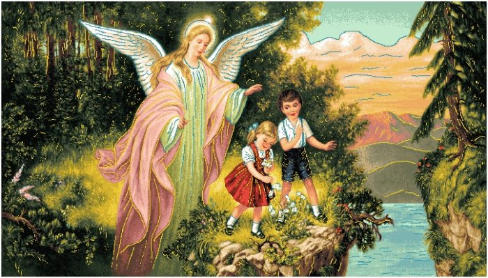 гобелен Ангел хранитель