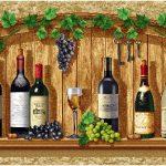 гобелен Белое вино