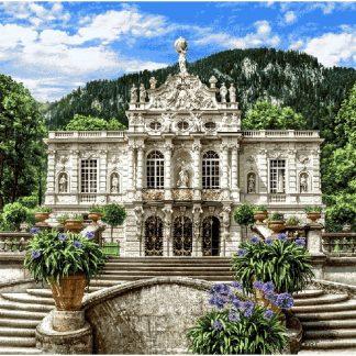 Гобелен Белый замок Линдерхоф
