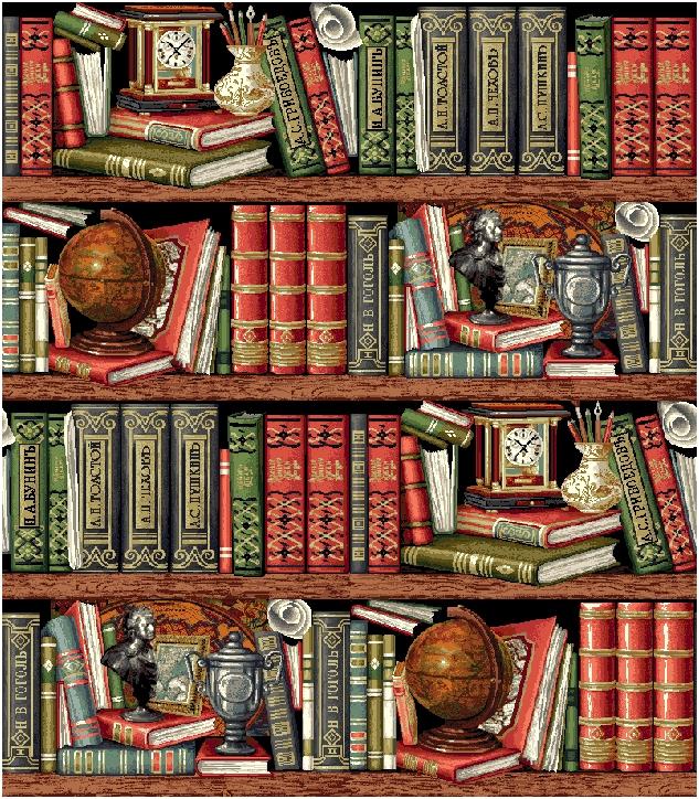 гобелен Библиотека