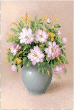 гобеленовая картина Букет из розовых цветов