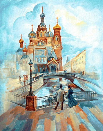 гобелен Бульвар (У трёх мостов)