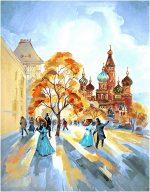 гобелен Бульвар (осенний день)