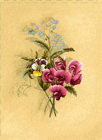 гобелен Бутоньерка (львиный зев)