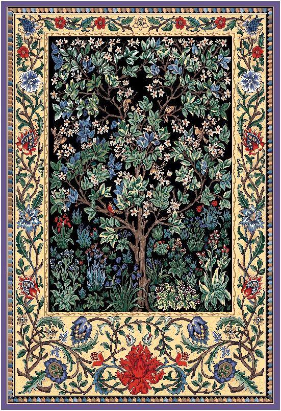 гобеленовая картина Древо жизни
