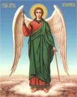 гобеленовая Икона Ангел-хранитель