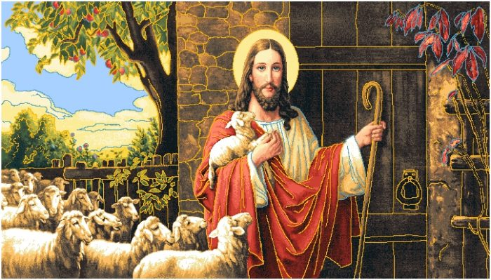 гобелен Пастух и овцы