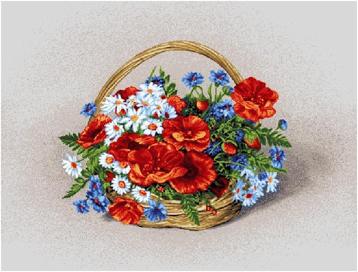 гобелен Полевые цветы