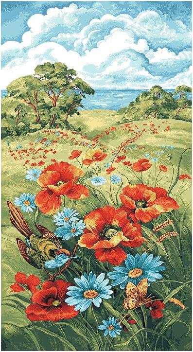 гобелен Разноцветье