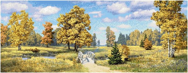 гобелен Родина Осень