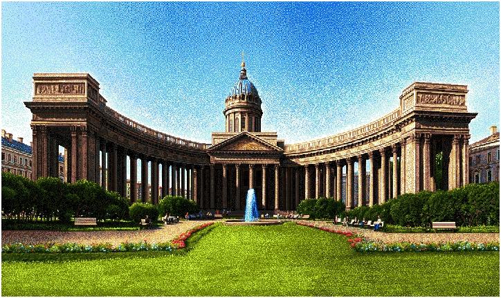 гобелен СПб. Казанский собор