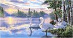 гобелен Северные гуси