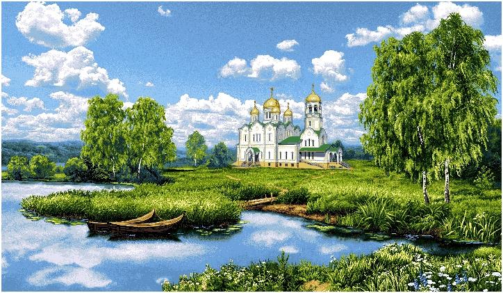 гобелен Святое место
