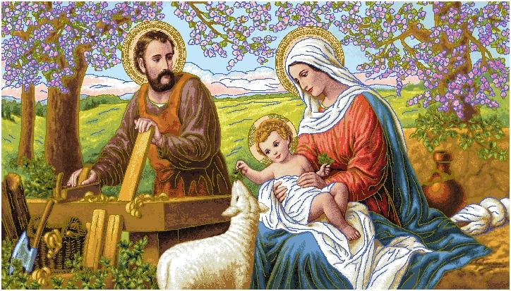 гобелен Святое семейство