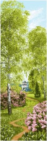гобелен Весенний лес