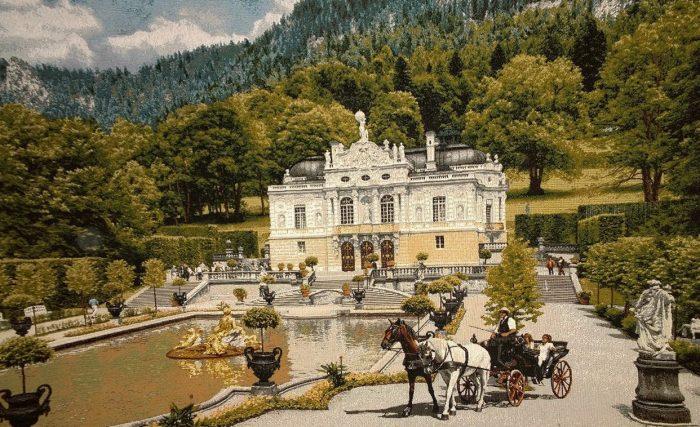 гобелен замок Линдерхоф