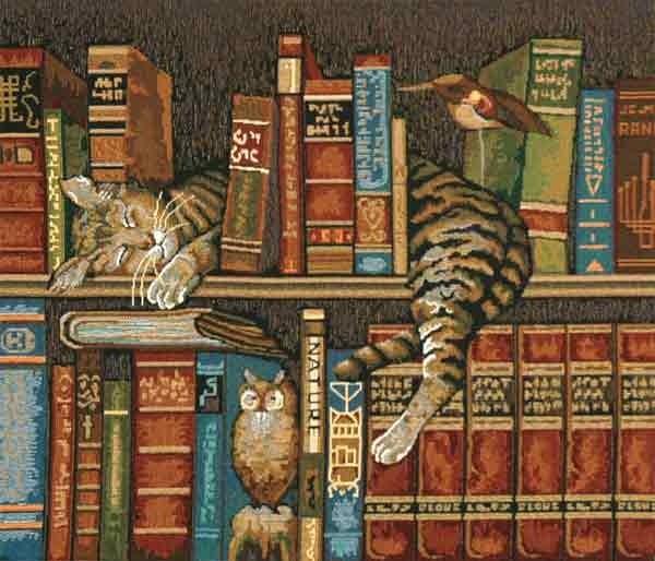 гобелен Библиотекарь