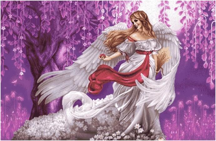 гобелен Белый ангел
