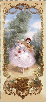 гобелен Урок танца
