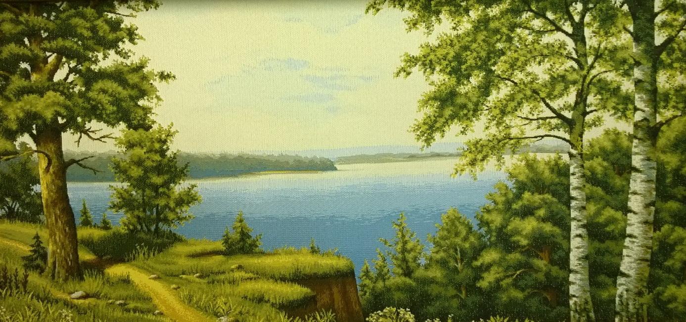 гобелен Крутые берега
