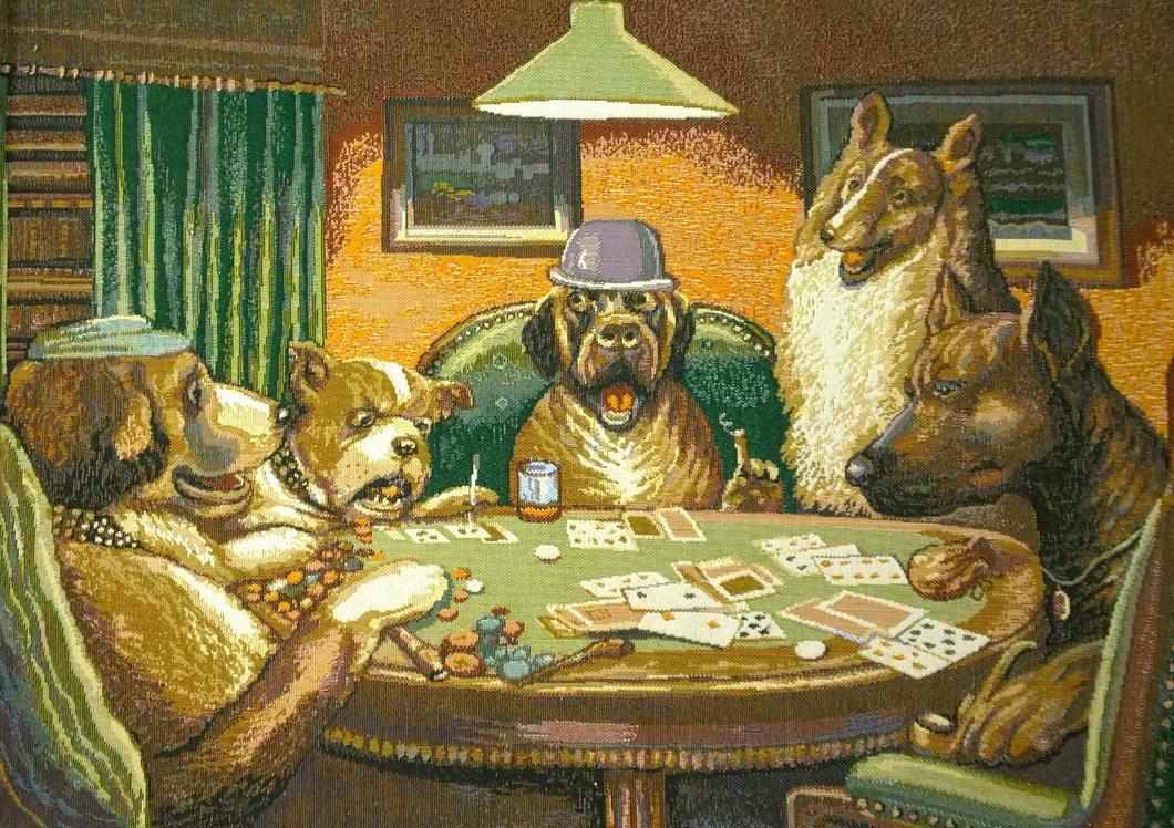 гобелен покер