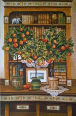 гобелен апельсиновое дерево