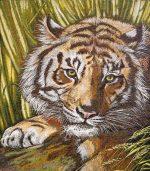 гобелен тигр