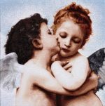 гобелен поцелуй ангела