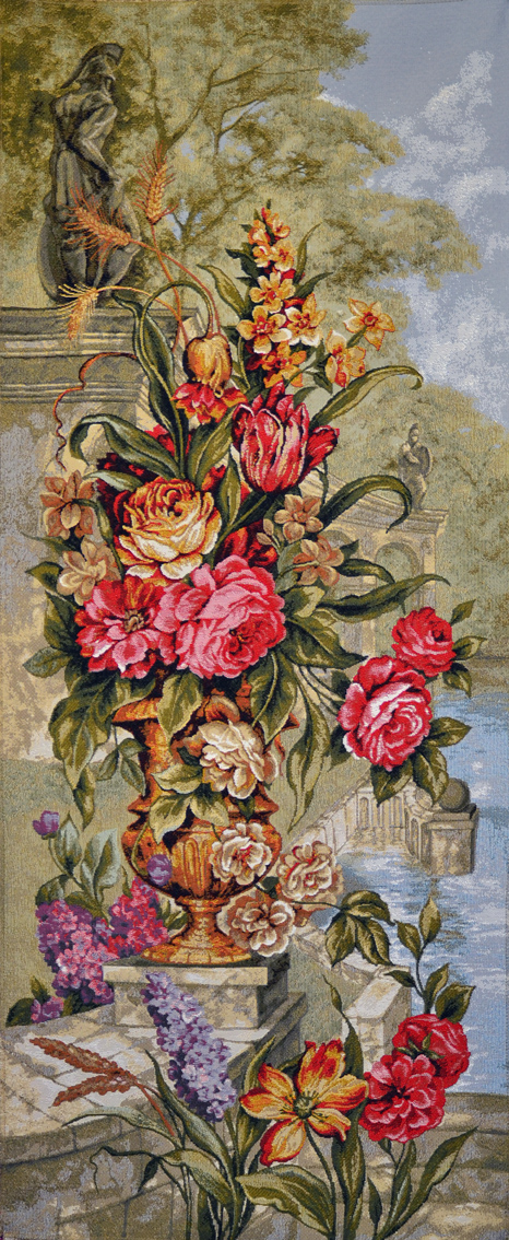 гобелен аромат цветов левая