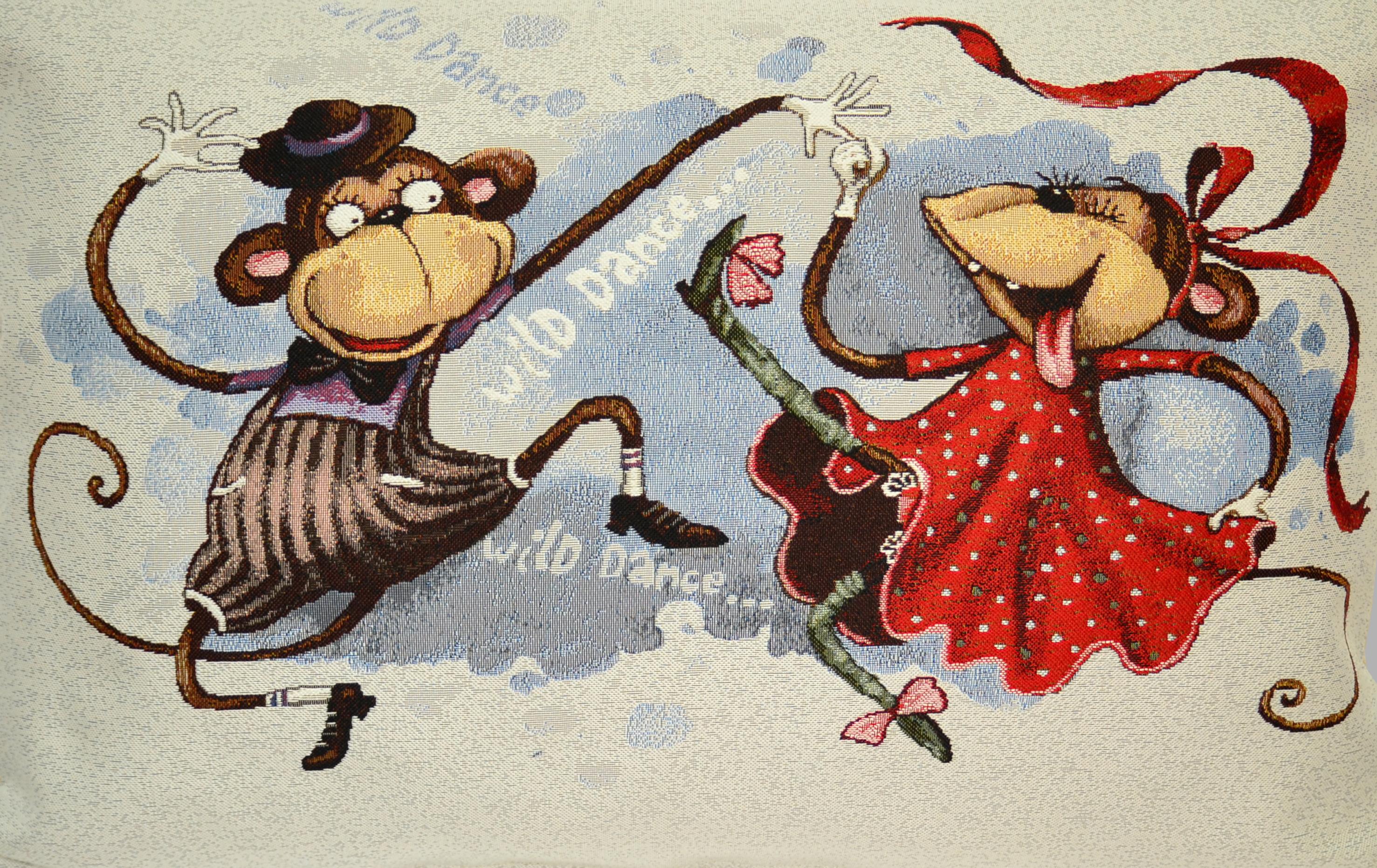 Забавы Танцующие обезьянки (50х70)