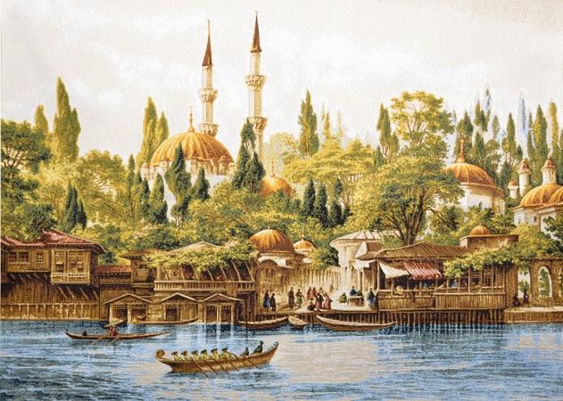 гобелен башни при мечети (97х70)