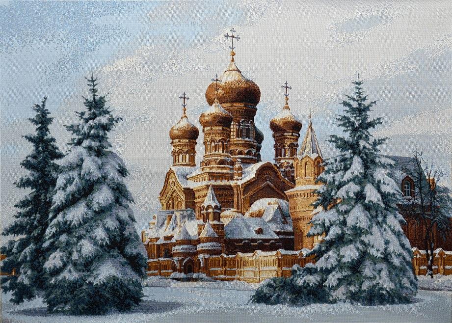 гобелен Утро перед Рождеством (50х70)