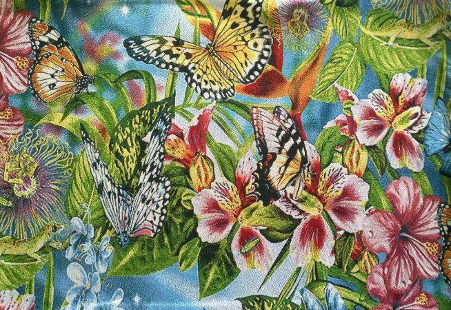 Купить гобеленовую наволочку бабочки