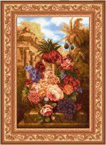 Гобелен Виноград с цветами