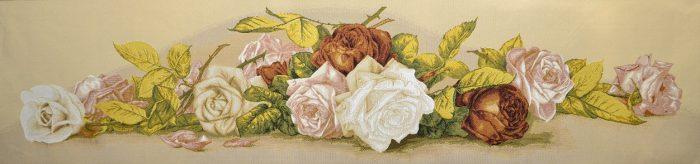 Гобелен винтажные розы
