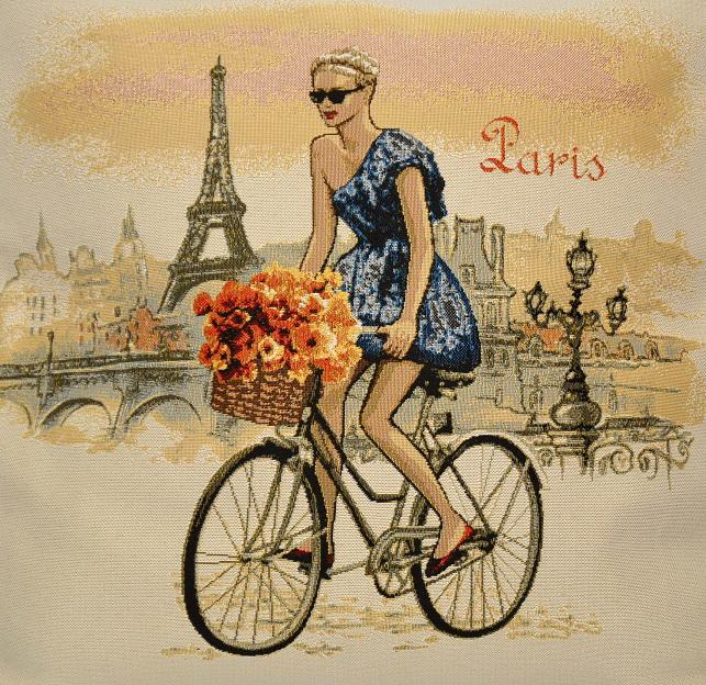 Гобелен леди Париж