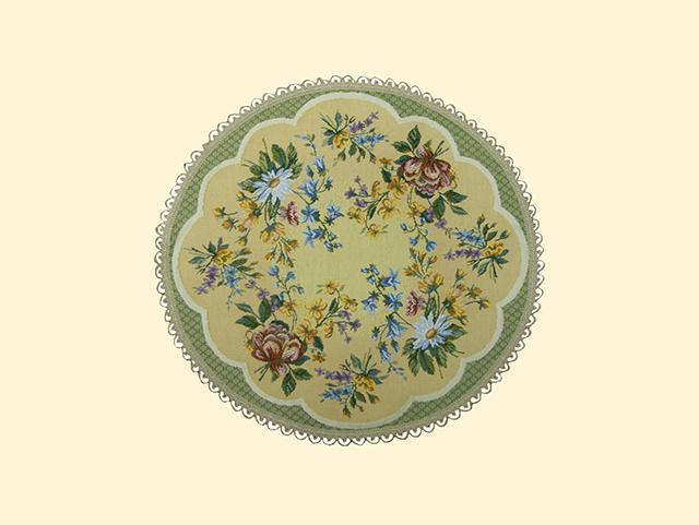 Гобелен цветочное кружево