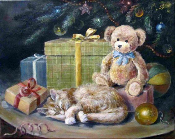 Гобелен новогодние сны