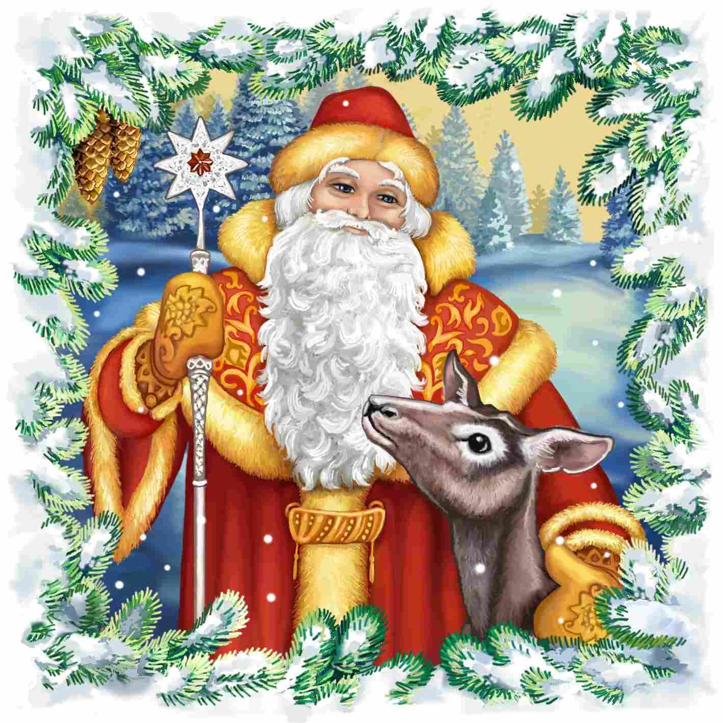 Гобелен Дедушка Мороз