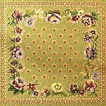 Гобеленовая салфетка цветочный мотив