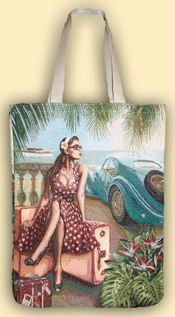 Купить гобеленовую сумку романтика