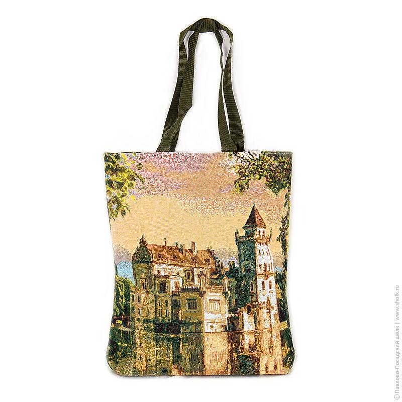 Купить гобеленовую сумку замок мечты