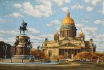 Картина СПб Исаакиевский собор