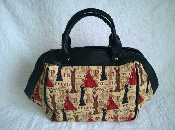 купить сумку гобеленовую венецианский бал