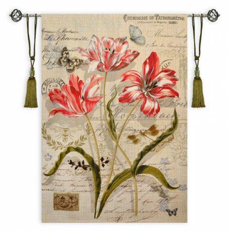 Гобелен брюссель тюльпаны