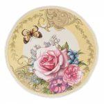 Гобеленовая салфетка вальс цветов бабочка