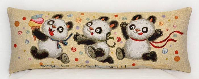Гобелен мишки панды догони
