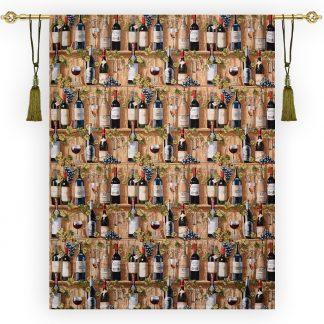 Гобеленовое панно виноградное вино_190х145