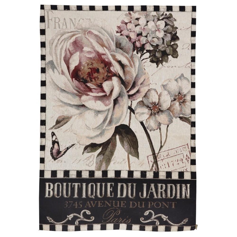 Гобелен цветочный бутик