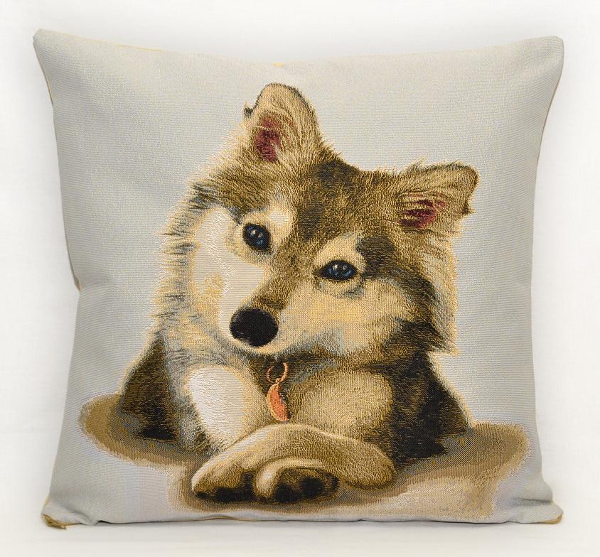 Гобелен хаски щенок